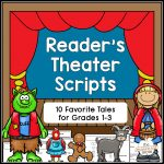 Reader's Theater Scripts   Familiar Tales For Grades 1 3   The   Free Printable Readers Theater Scripts 3Rd Grade
