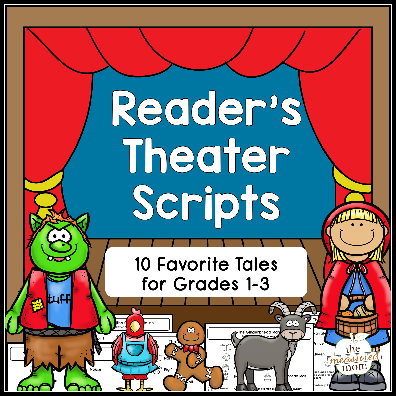 Reader's Theater Scripts - Familiar Tales For Grades 1-3 - The - Free Printable Readers Theater Scripts 3Rd Grade