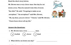 Reading Worksheets | First Grade Reading Worksheets – Free Printable Reading Passages With Questions