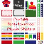 Ready For School?! Don't Miss A Thing With These Printable Stickers   Free Printable Stickers For Teachers