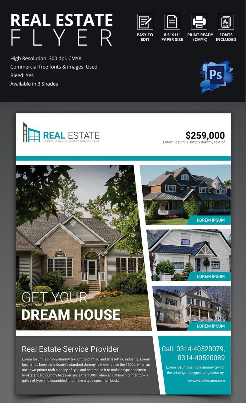 Real Estate Flyer Templates | Hgvi.tk - Free Printable Real Estate Flyer Templates