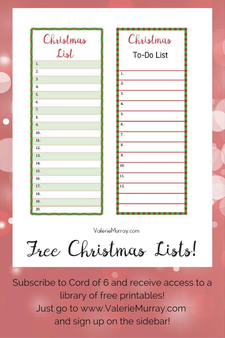 Reindeer And Sparrows: A Christmas Story | Christmas | Pinterest - Free Printable Christmas List Maker