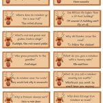 Reindeer Riddles: Free Printable | A List Maker's Life   Free Printable Riddles