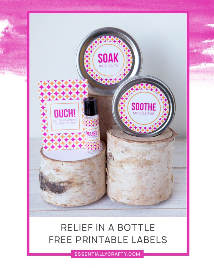 Free Printable Roller Bottle Labels