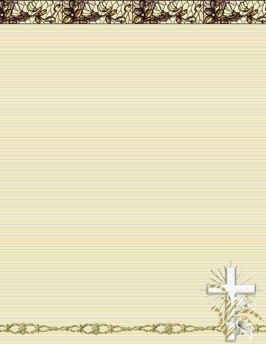 Religious Letterhead Design 6 Best Images Of Religious Border - Free Printable Religious Letterhead