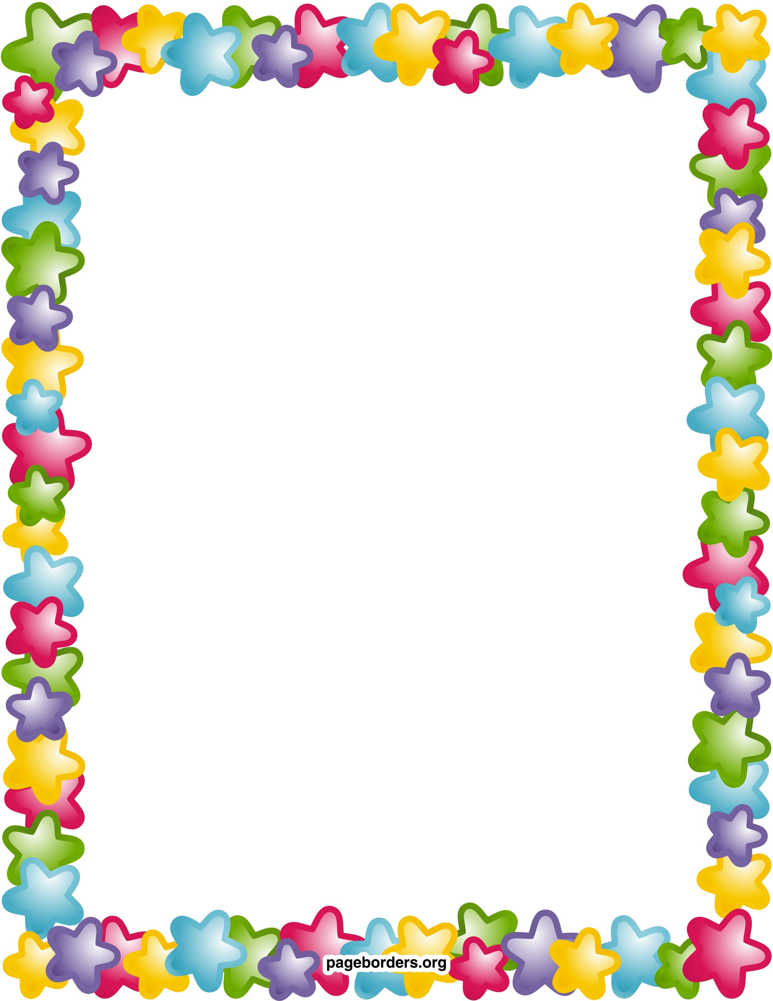 Remarkable Decoration Free Printable Borders And Frames Clip Art - Writing Borders Free Printable