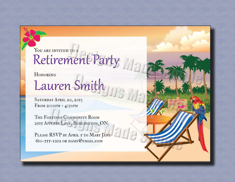 Retirement Party Invitations Template 2Xizvtxm   Retirement Or Cooks - Free Printable Retirement Party Flyers