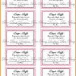 Review Free Printable Diaper Raffle Tickets For Baby Shower – Ideas – Free Printable Diaper Raffle Ticket Template