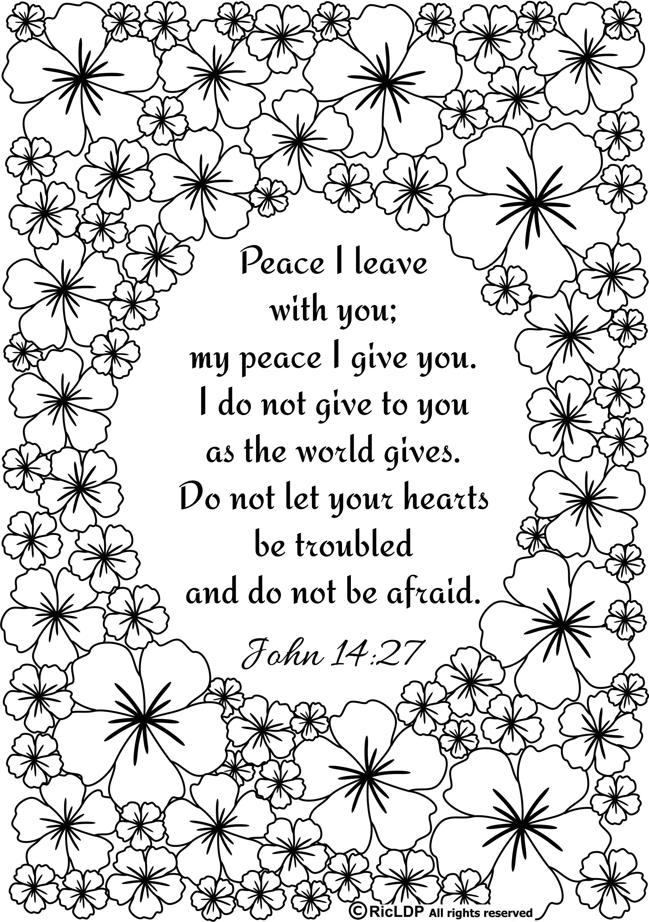 Ricldp Artworks (Ricldp)   Coloring Pages!!!   Pinterest   Bible - Free Printable Bible Coloring Pages With Verses