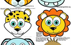 Animal Face Masks Printable Free
