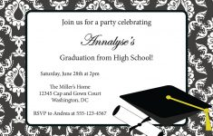 Sample Invitation Card For Graduation Party | Graduation Invitation – Free Online Printable Graduation Invitation Maker