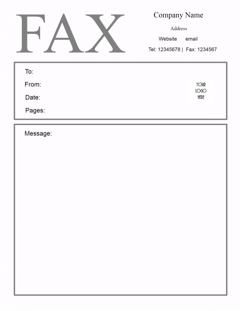 Sample Of Fax Cover Sheet Pdf Download | [Free]* Fax Cover Sheet - Free Printable Fax Cover Sheet Pdf