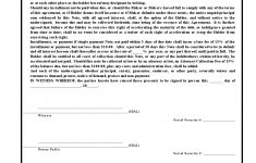 Free Printable Promissory Note Contract