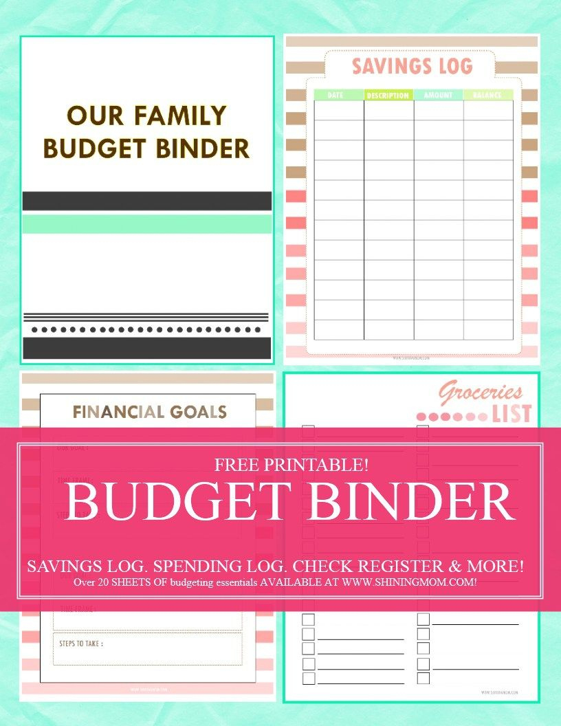 Save Money, Use Our Free Budget Binder! | Budgeting | Budgeting - Free Printable Budget Binder