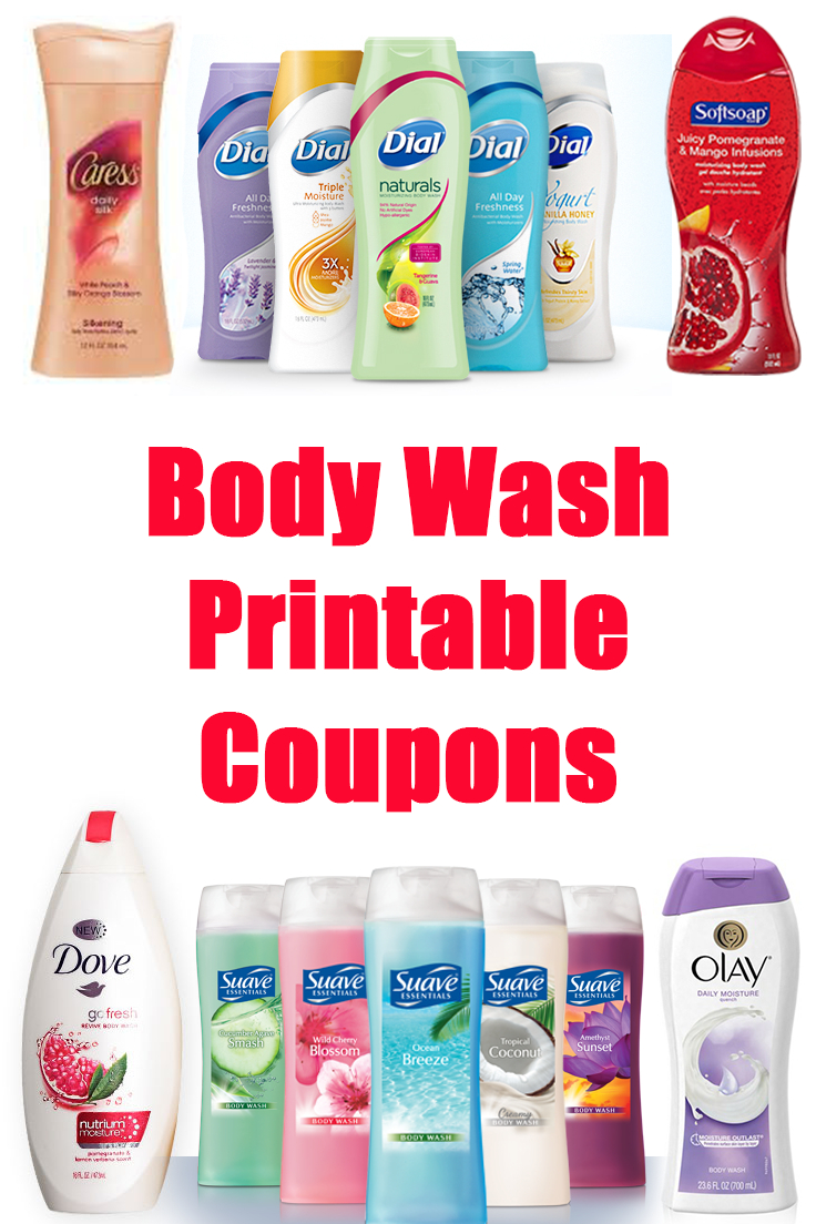 Save On Body Wash Using Printable Coupons (Olay, Suave, Dove & More - Free Dove Soap Coupons Printable