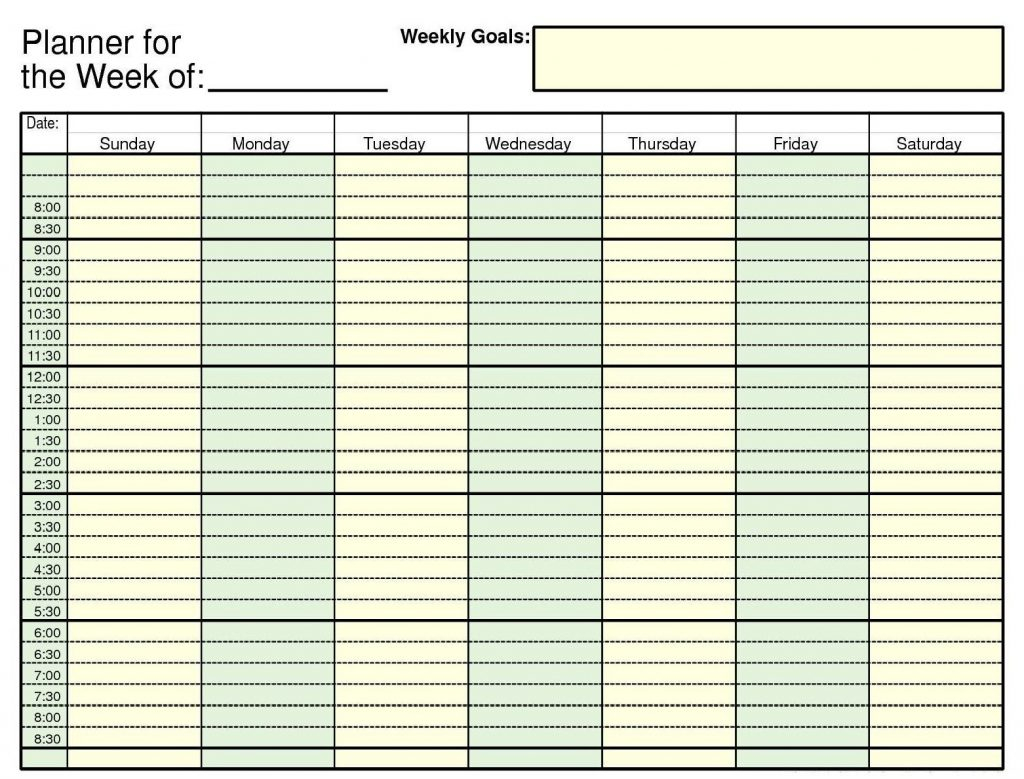 Schedule Template Daily Ndar Weekly Free Printable Appointment | Smorad - Free Printable Appointment Sheets