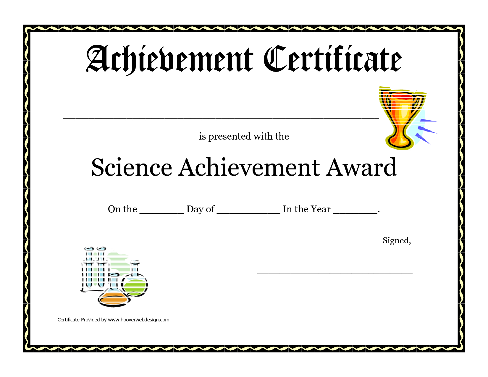 Science Fair Award Certificate Award Certificate Download Now Pdf - Free Printable Award Certificates For Elementary Students