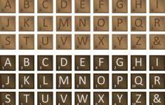 Free Printable Scrabble Tiles