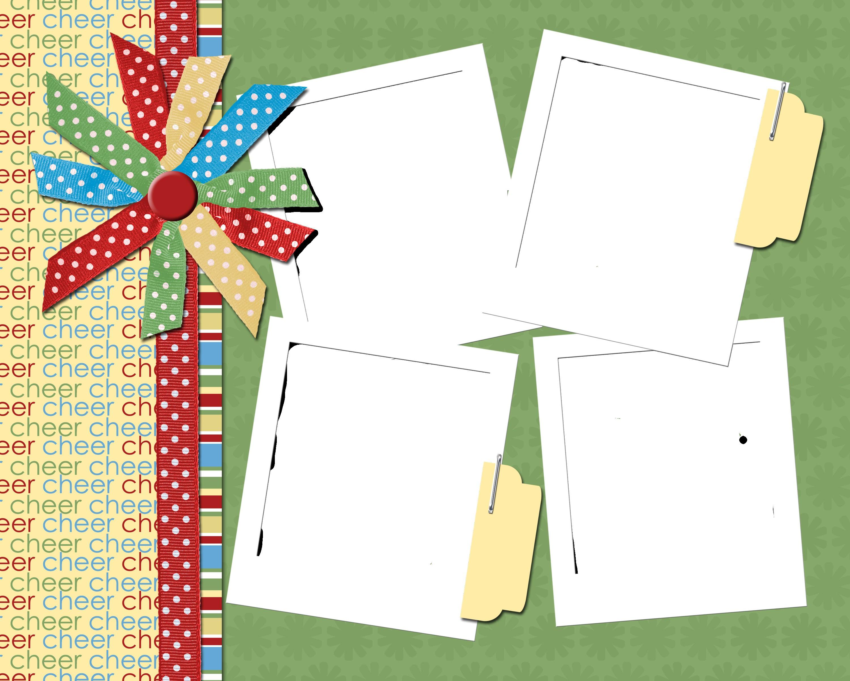 Scrapbook Designs Cover Design Template Free Page Templates - Baby Scrapbook Templates Free Printable