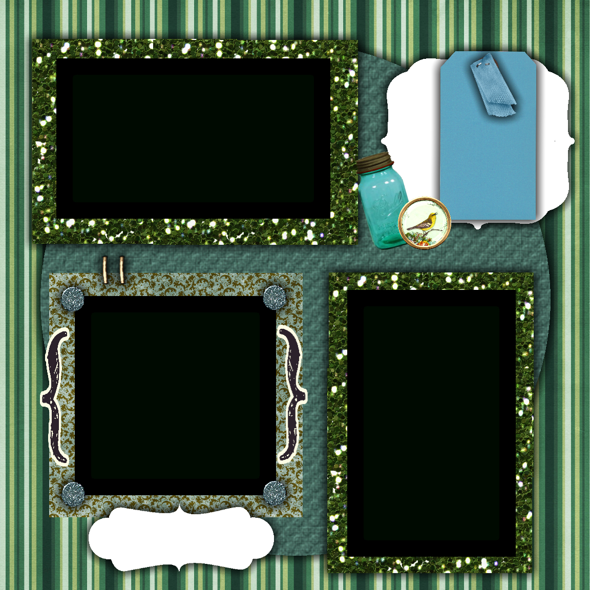 Scrapbook Layouts - Sweetly Scrapped 's Free Printables,digi's And - Free Printable Frames For Scrapbooking
