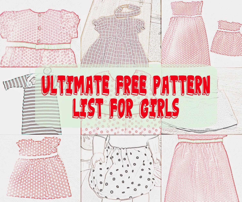 Seemesew: Free Girl Patterns - Free Printable Blouse Sewing Patterns