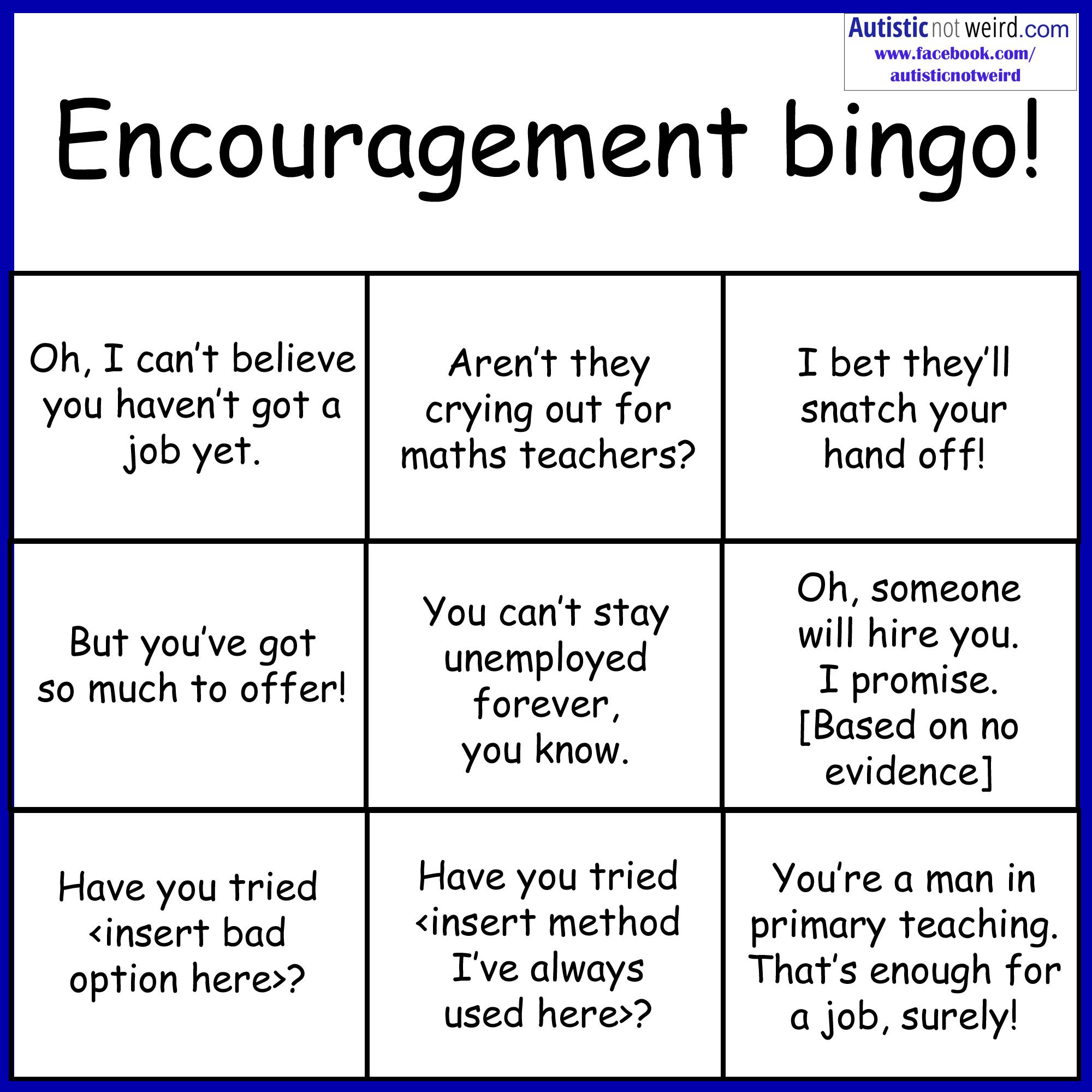 Self Esteem Bingo Printable | Www.topsimages - Free Printable Self Esteem Bingo