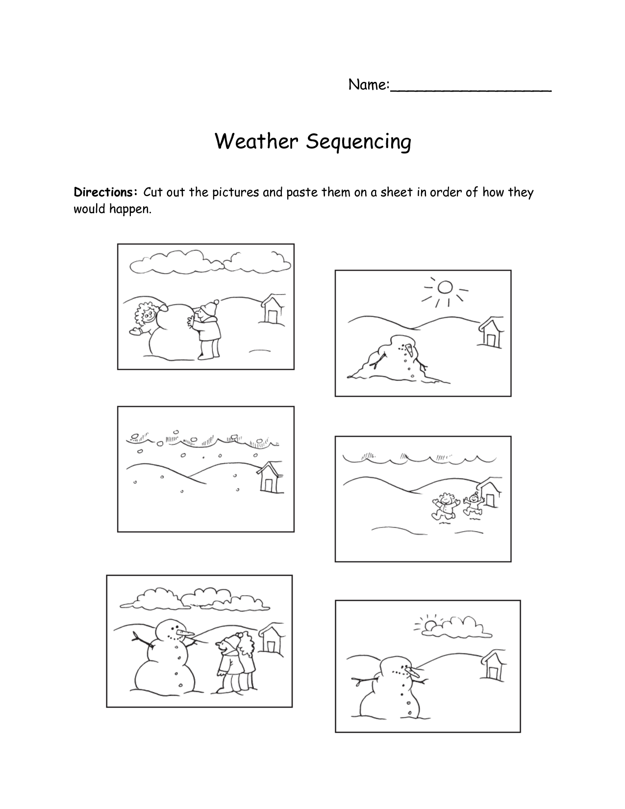 Sequence Of Events Worksheets Diagrams - 5.11.geuzencollege - Free Printable Sequencing Worksheets 2Nd Grade