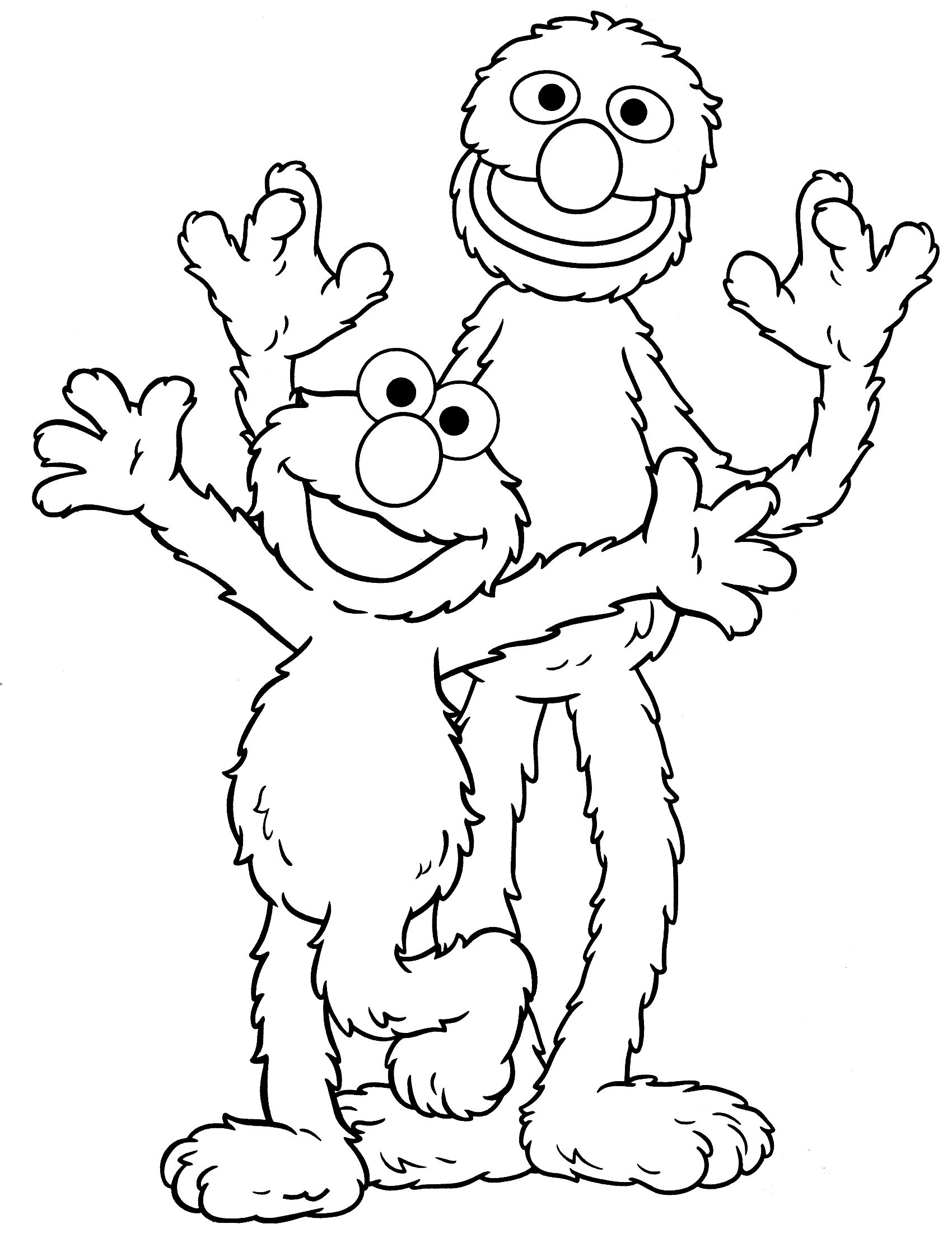 Sesame Street Coloring Pages Bert Free Printable Coloring Pages - Free Printable Sesame Street Coloring Pages