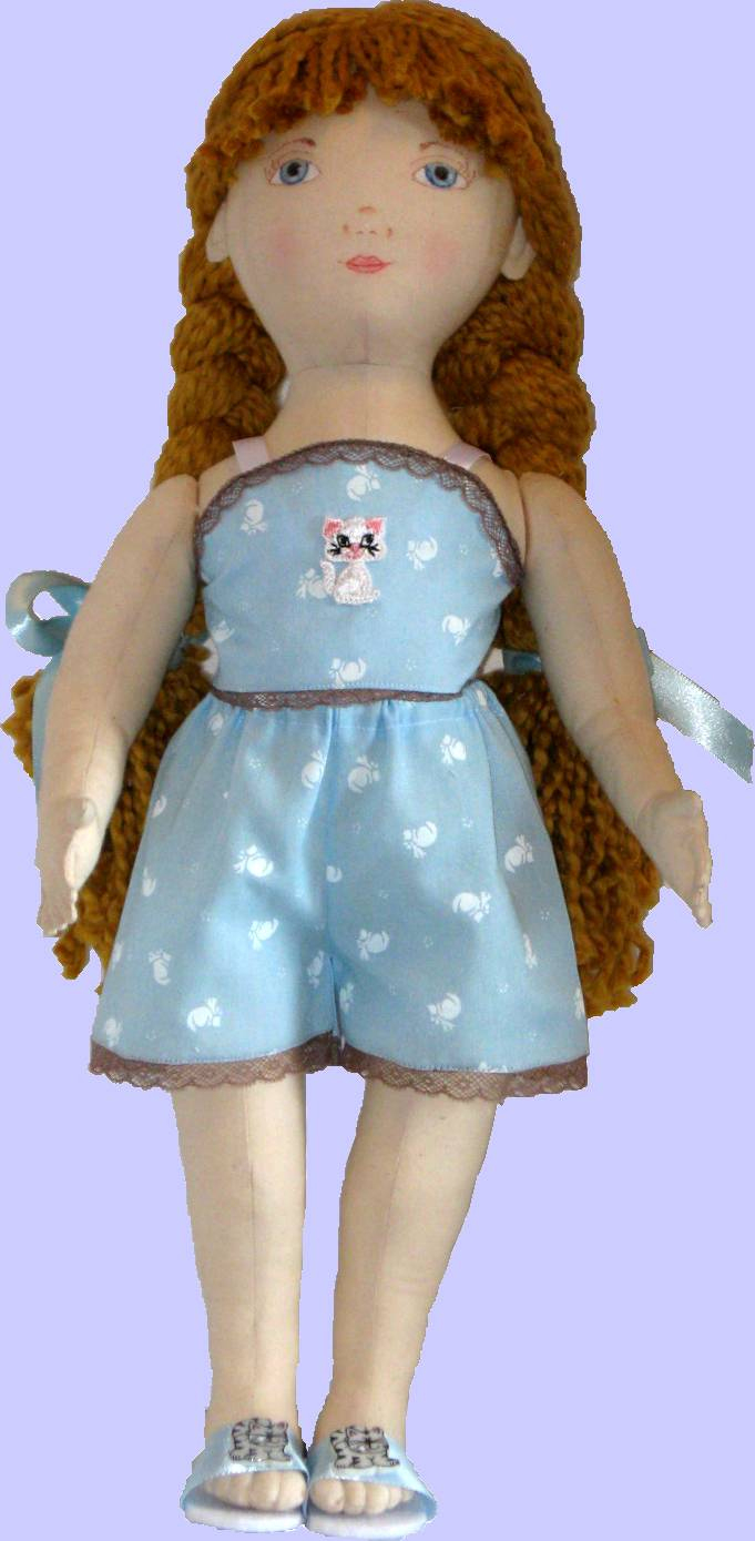 Free Printable Cloth Doll Sewing Patterns