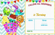 Shopkins Printable Invitations – Fly-Bies.se – Free Printable Shopkins Birthday Invitations
