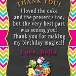Shopkins Thank You Card | Shopkins 4 My Bianca! In 2019 | Shopkins   Free Printable Shopkins Thank You Cards