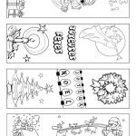 Signets Noel A Colorier | Coloring Page | Pinterest | Bookmarks Kids   Free Printable Christmas Bookmarks To Color