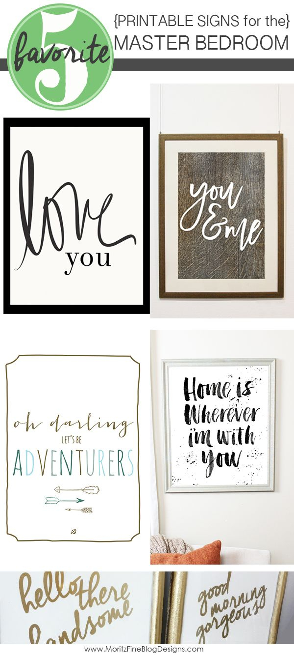 Signs For The Master Bedroom | Free Printables | Home, Home Decor - Free Printable Bedroom Door Signs