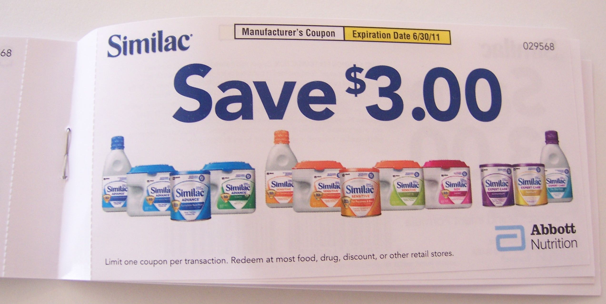Similac Coupon | Printable Coupons Db 2016 - Free Printable Similac Baby Formula Coupons