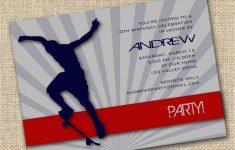 Skateboard Invitations Birthday Party | Birthdaybuzz – Free Printable Skateboard Birthday Party Invitations