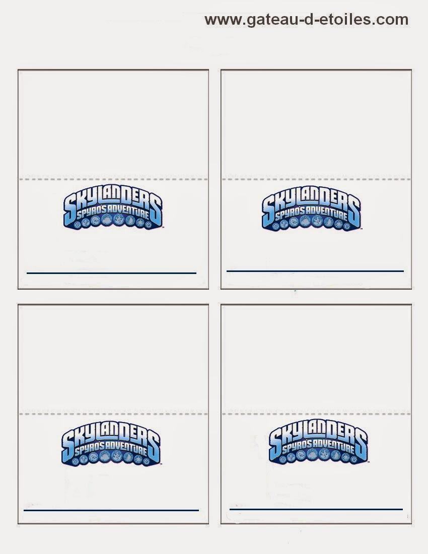 Skylanders Free Printable Mini Kit. | Oh My Fiesta! In English - Free Printable Skylander Invitations