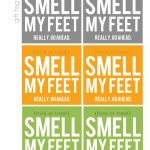 Smell My Feet! (Free Printable / Halloween Gift)   My Sister's   Free Printable Halloween Homework Pass