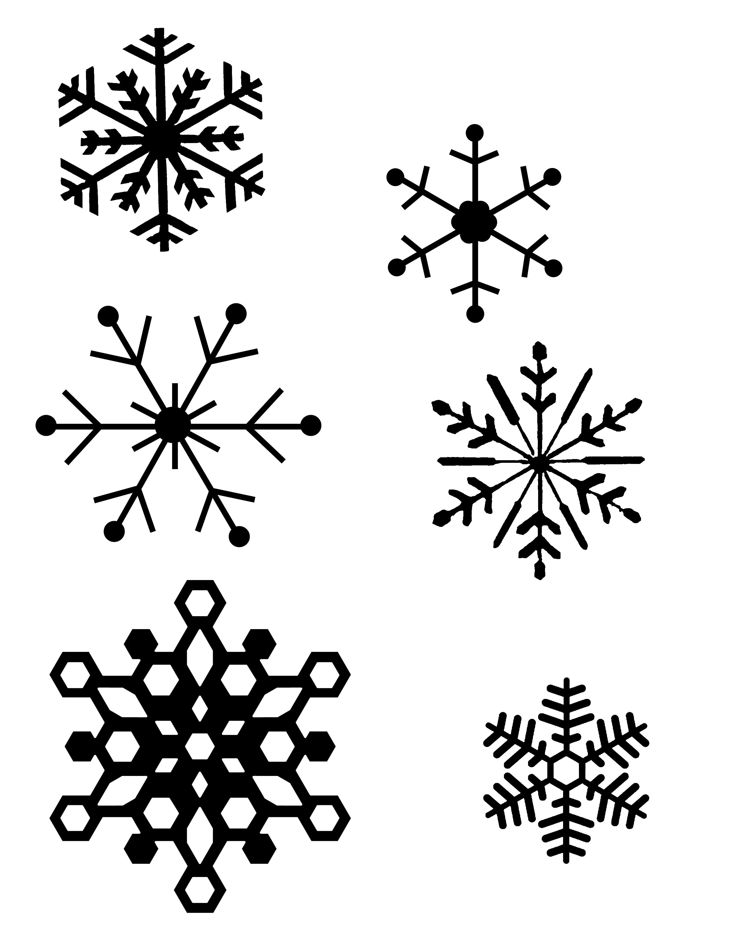 Snowflake Patterns (For Hot Glue Gun Snowflakes) I Think I Will Be - Free Printable Snowflakes