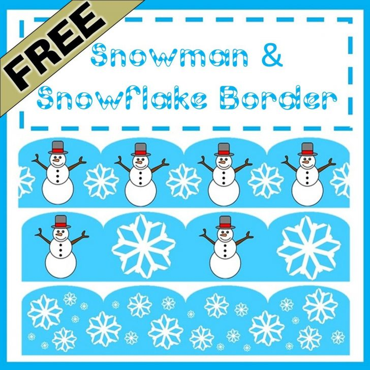 Free Printable Christmas Bulletin Board Borders