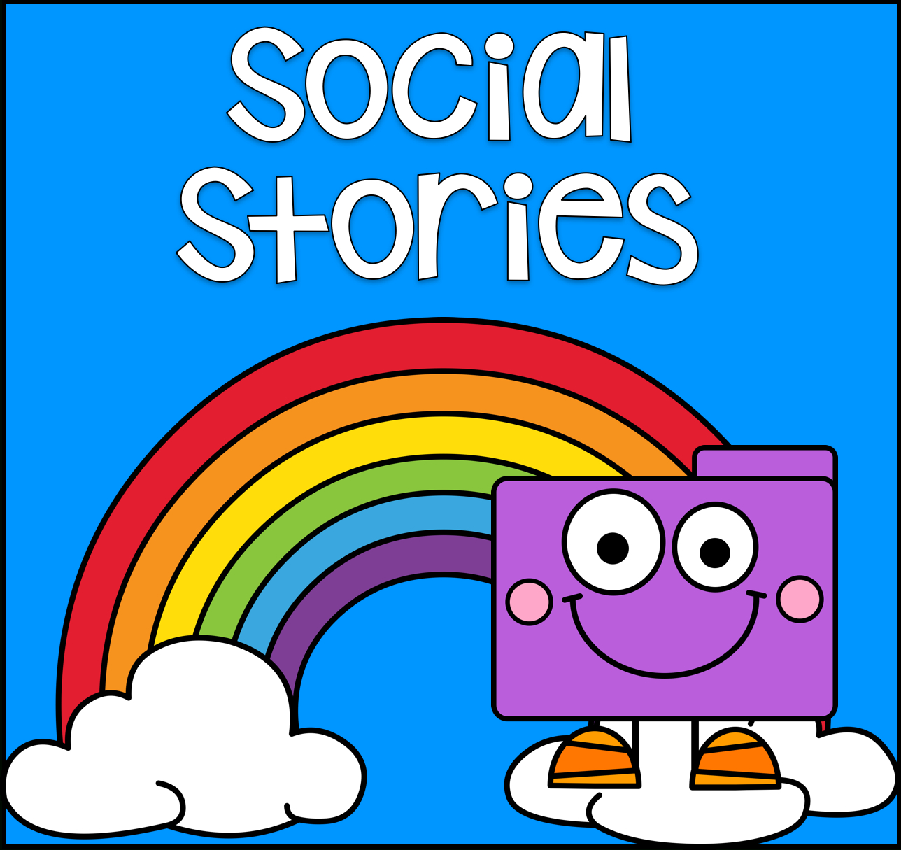 Social Stories : File Folder Games At File Folder Heaven - Printable - Free Printable Social Stories