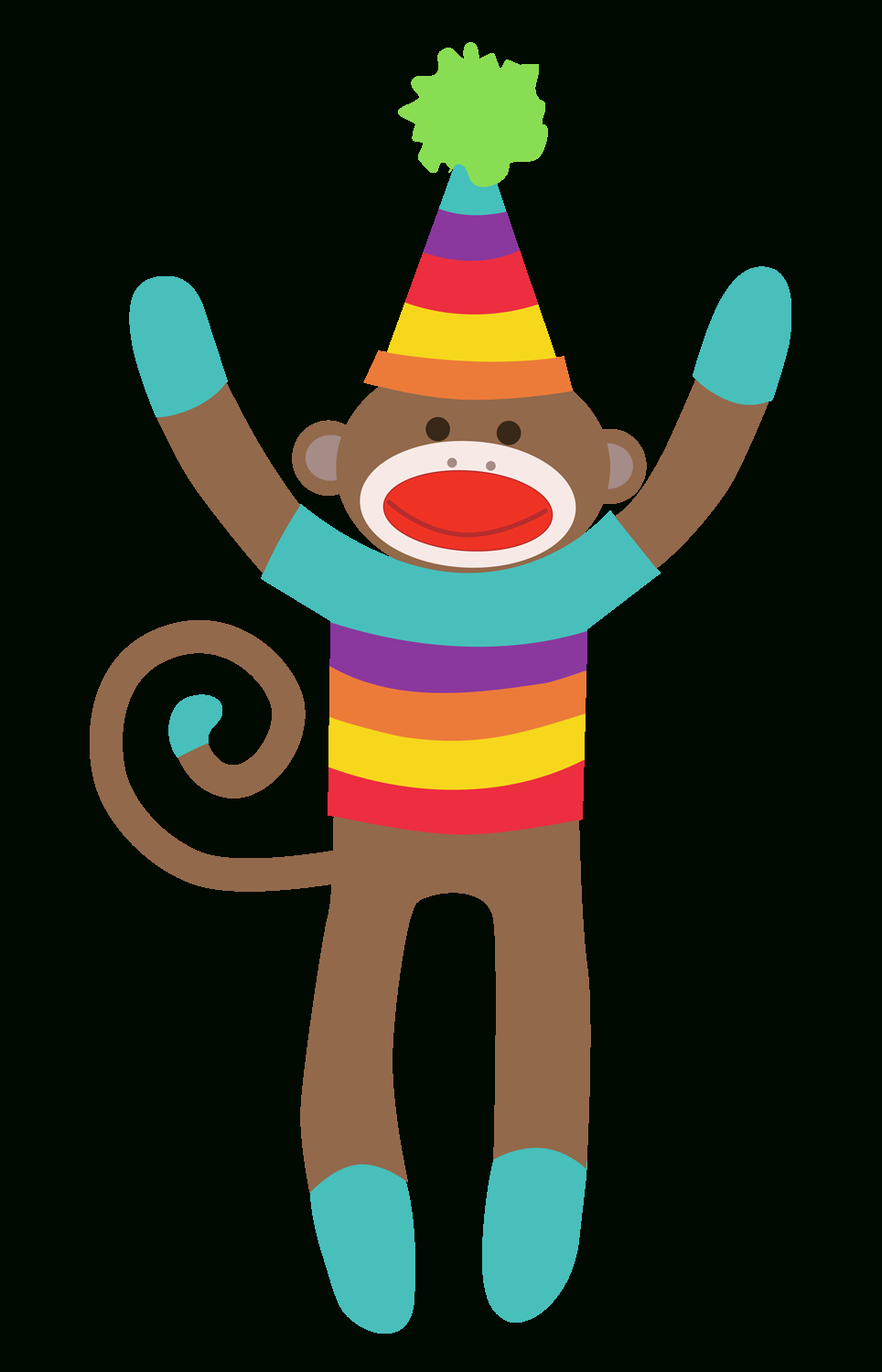 Sock Monkey Clip Art Free Clipart Collection - Free Printable Sock Monkey Clip Art