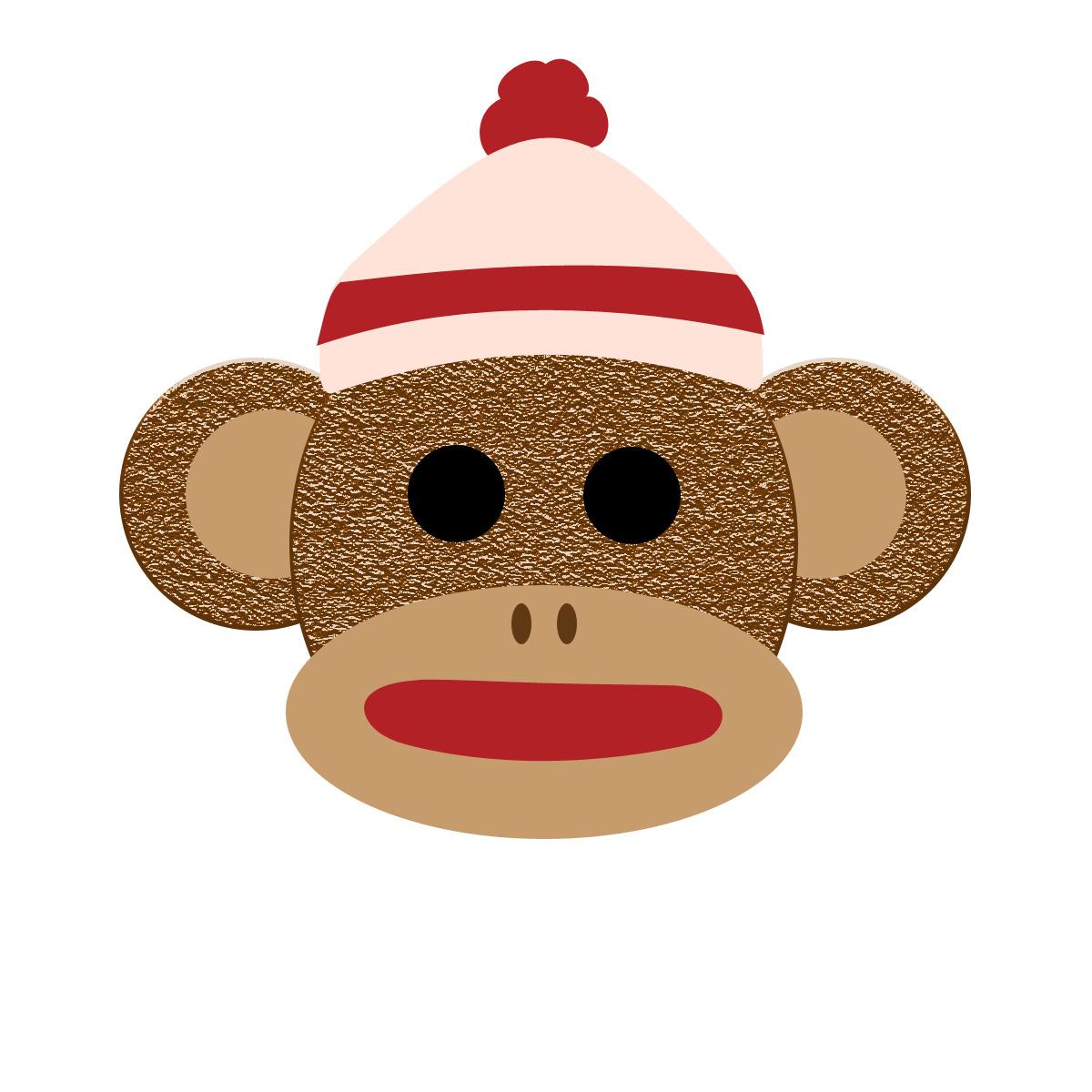Sock Monkey Clipart Free Collection - Free Printable Sock Monkey Clip Art