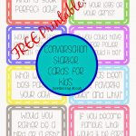 Sowdering About: Conversation Cards   Free Printable | Activities   Free Printable Group Games
