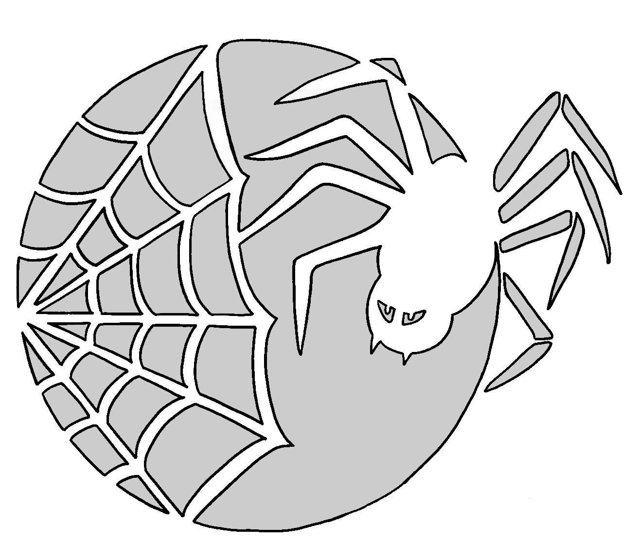 Spider Web Pattern | Spider Man Party In 2019 | Pinterest | Pumpkin - Spider Web Stencil Free Printable