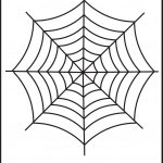 Spider Web Tracing – One Halloween Worksheets / Free Printable   Free Printable Spider Web