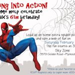 Spiderman Birthday Invitations Free Printable | Anniv Spiderman   Free Printable Spiderman Pictures