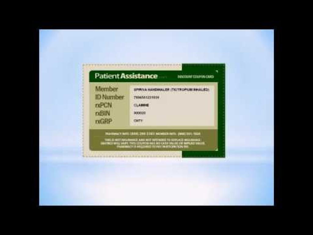 Spiriva Coupon | Spiriva Coupons Printable - Youtube With Regard To - Free Printable Spiriva Coupons
