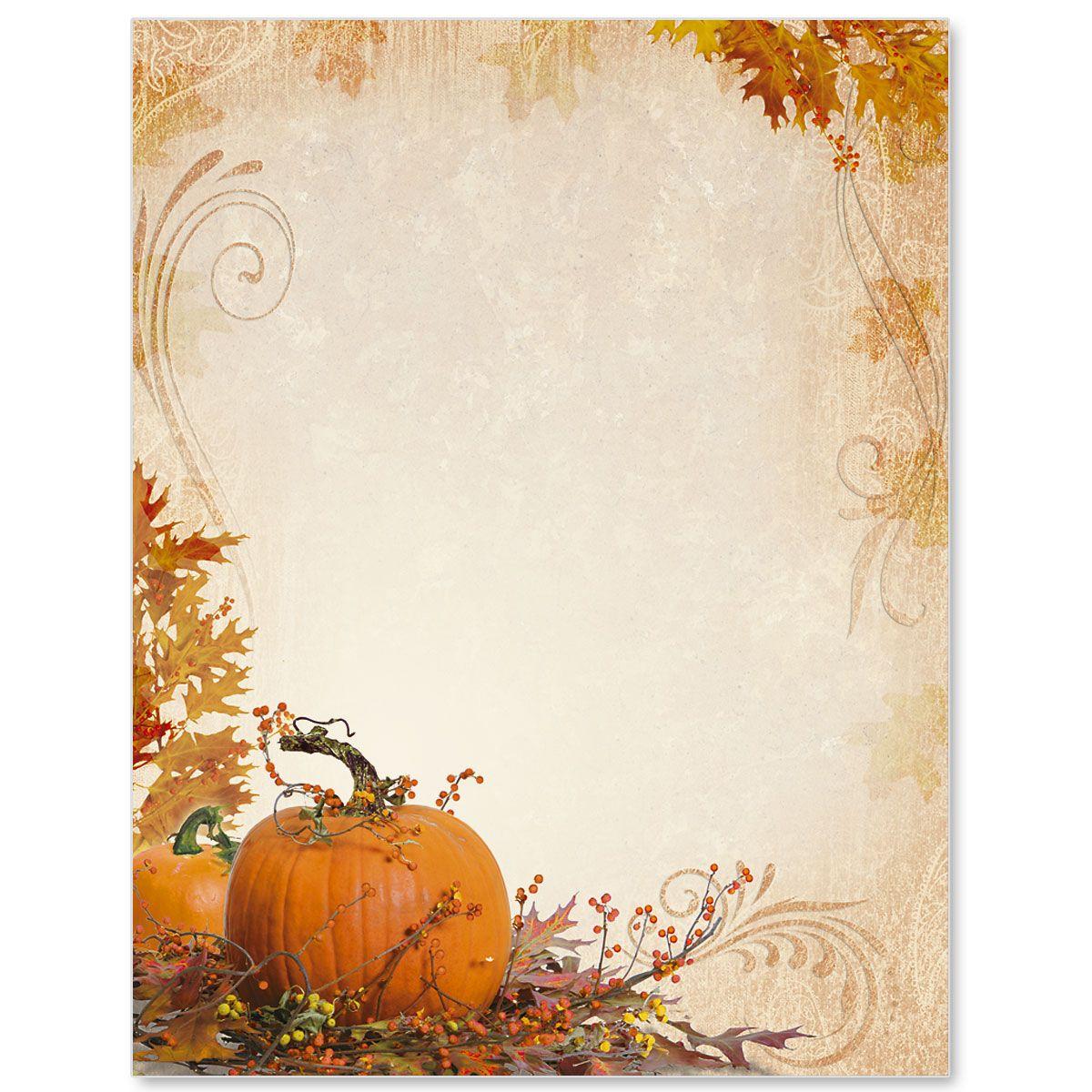 Splendid Autumn Border Papers | Autumm | Pinterest | Borders For - Free Printable Autumn Paper