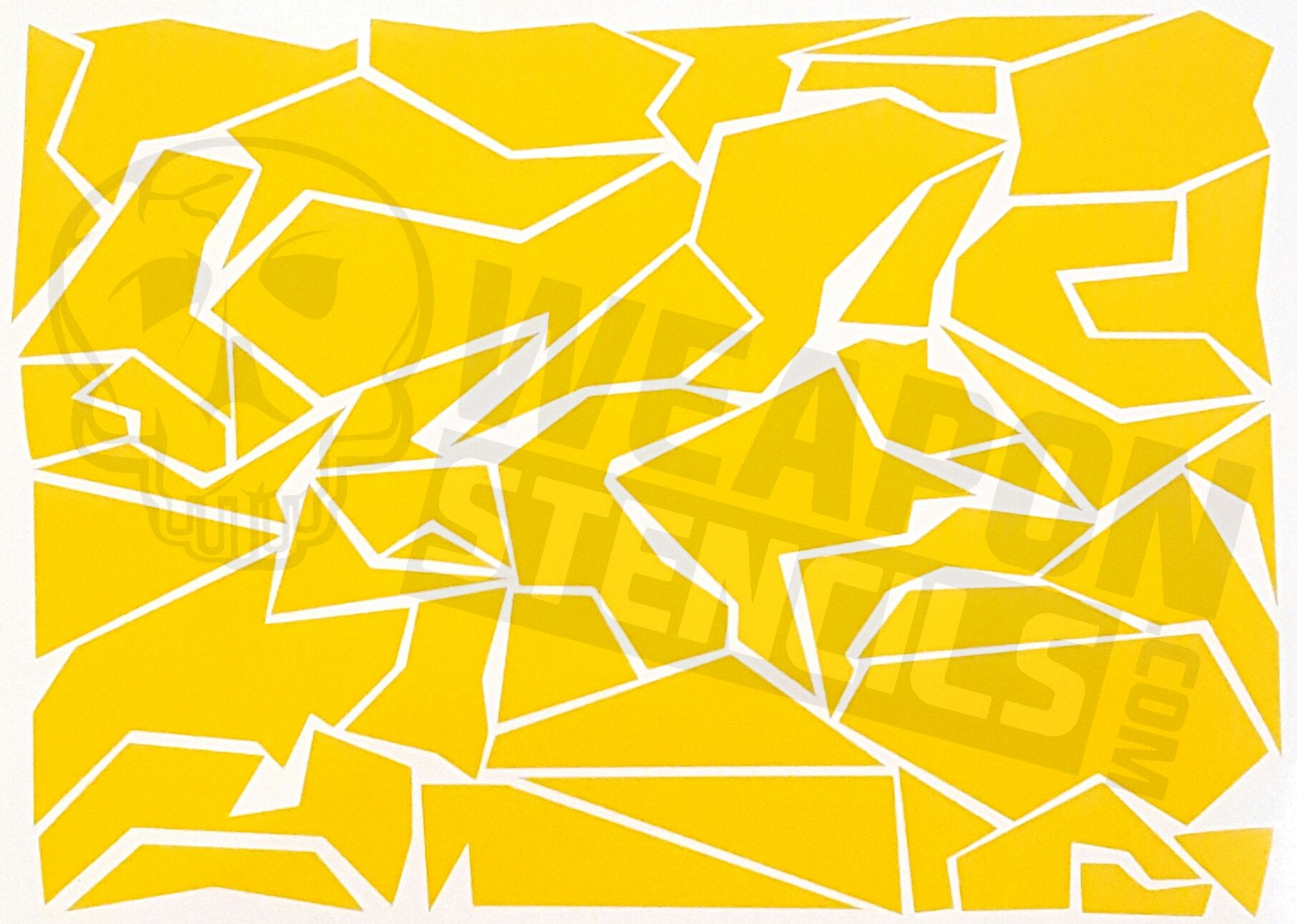 image relating to Printable Camo Stencils identify Splinter Camo Camo Recommendations Camo Stencil, Adhesive Stencils