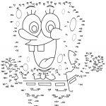 Spongebob Dot To Dot | Free Printable Coloring Pages   Free Printable Dot To Dot